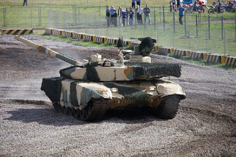 الدبات الروسة الحديثة T-90