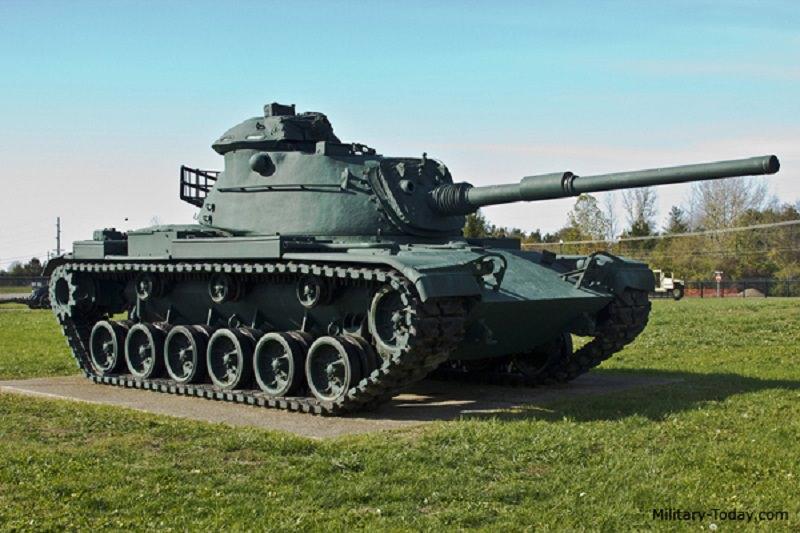 أكبر أسطول دبابات بتون ام60