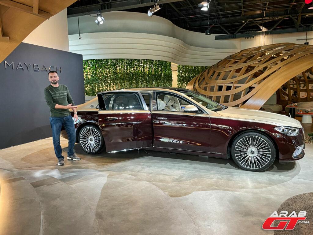 سيارة مرسيدس مايباخ اس كلاس 2021
