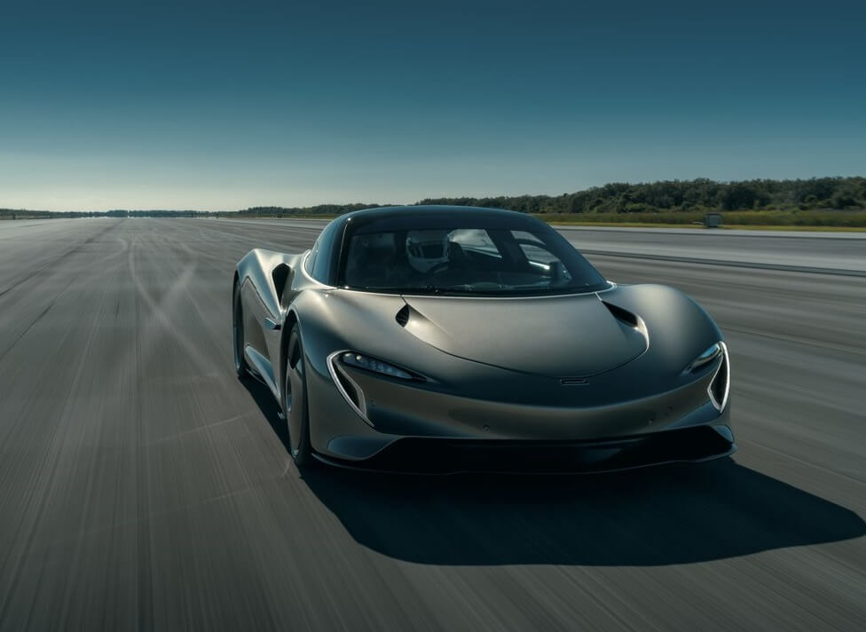 أسرع سيارة مكلارين 2020