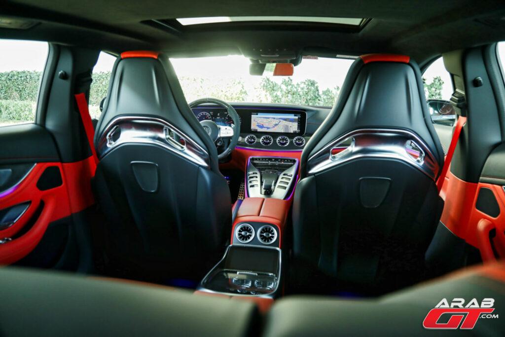 كراسي AMG GT 63 S 2021