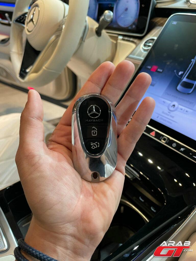 مفتاح سيارة مايباخ 2021