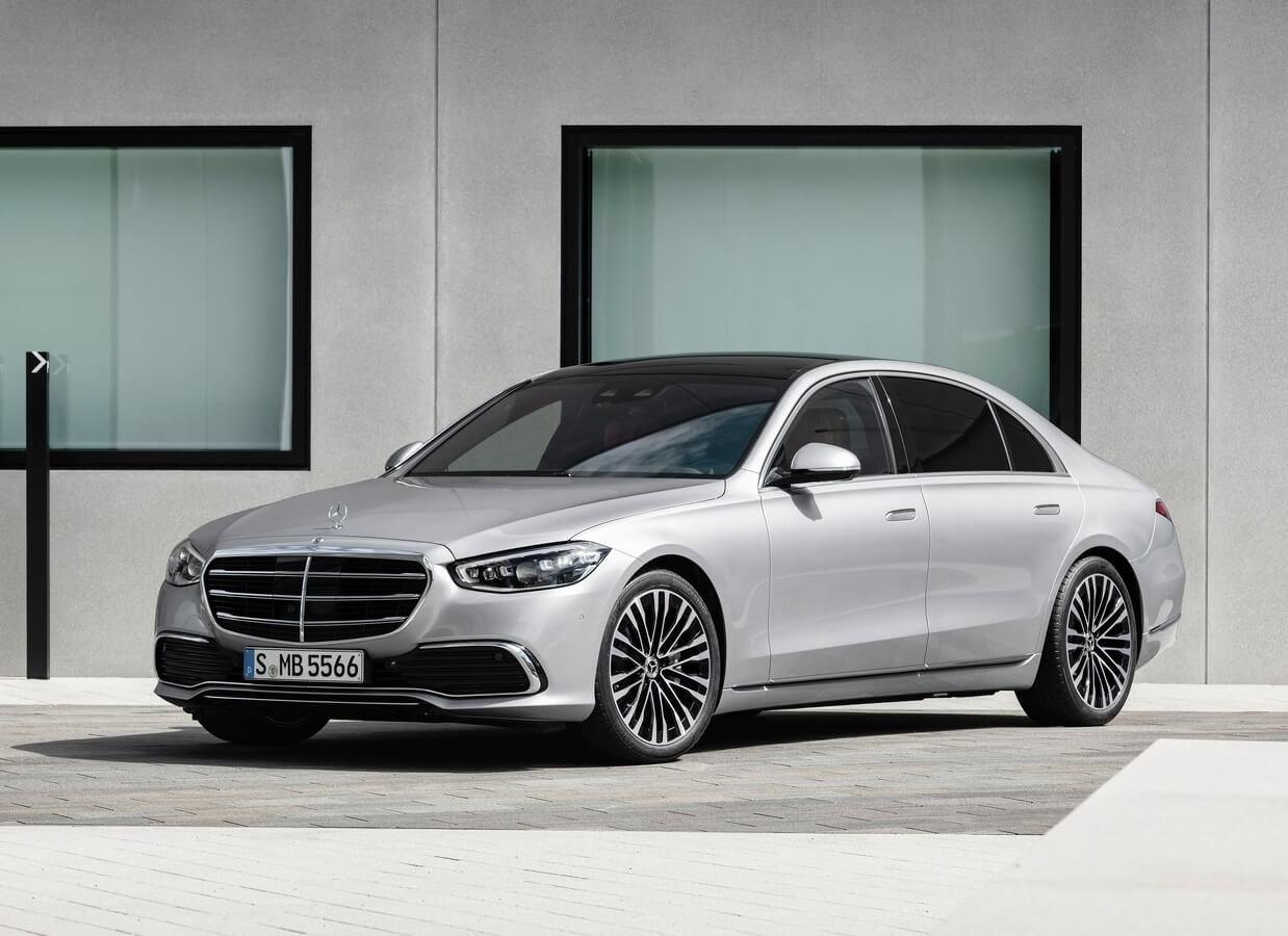 أفضل سيارة فخمة في العالم مرسيدس اس كلاس 2021