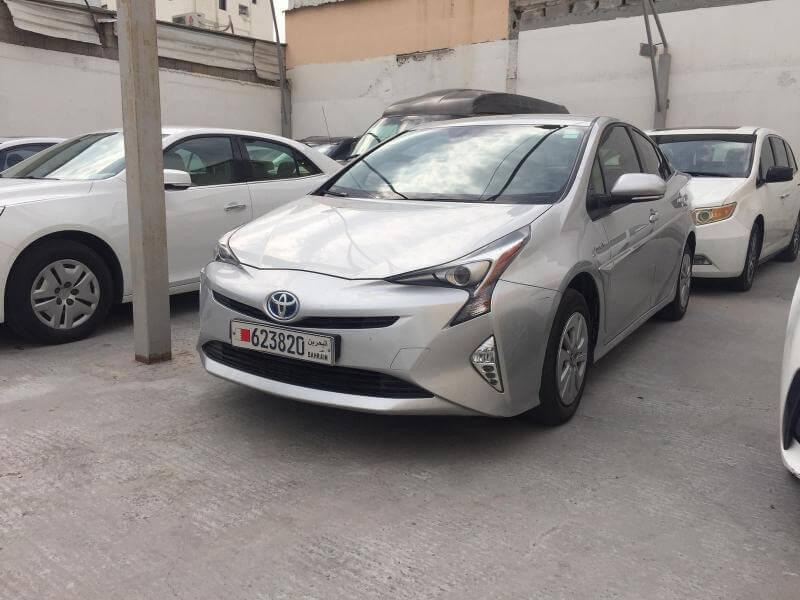 تويوتا بريوس 2016 مستعملة للبيع في حراج البحرين