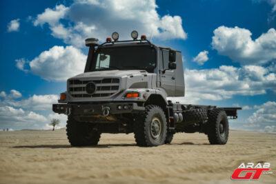 صور شاحنة مرسيدس زيتروس العسكرية