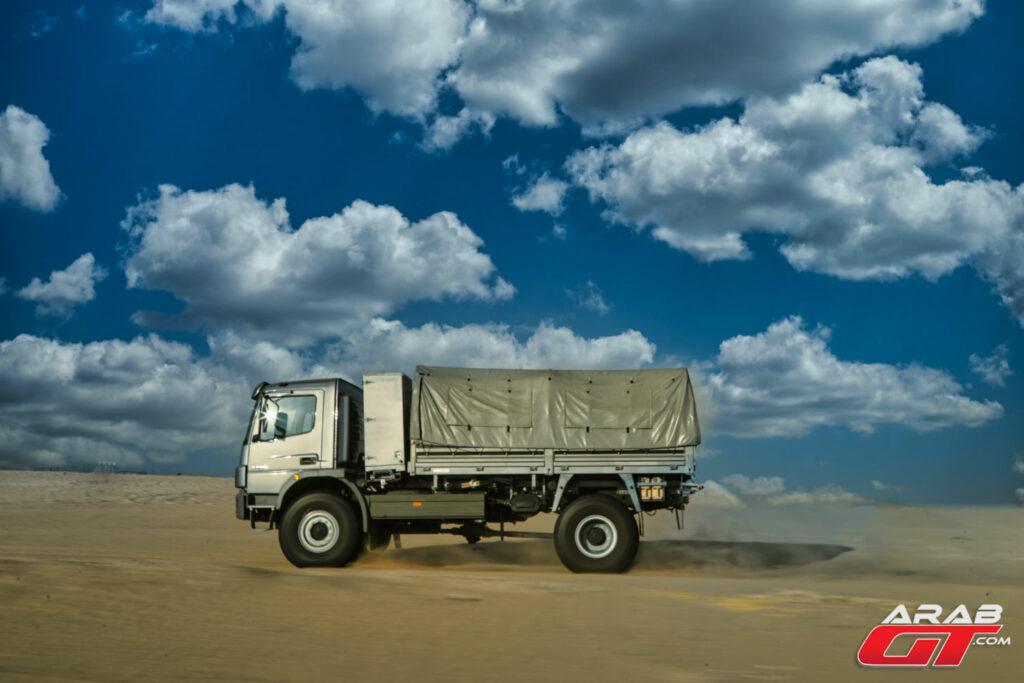 شاحنة مرسيدس جديدة