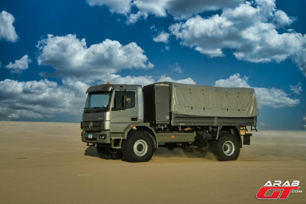 شاحنة مرسيدس