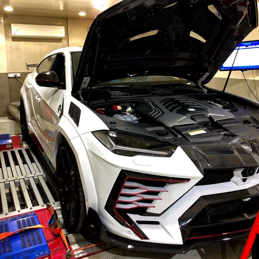 معايرة الداينو Dyno 4WD Dyno Calibration in Dubai