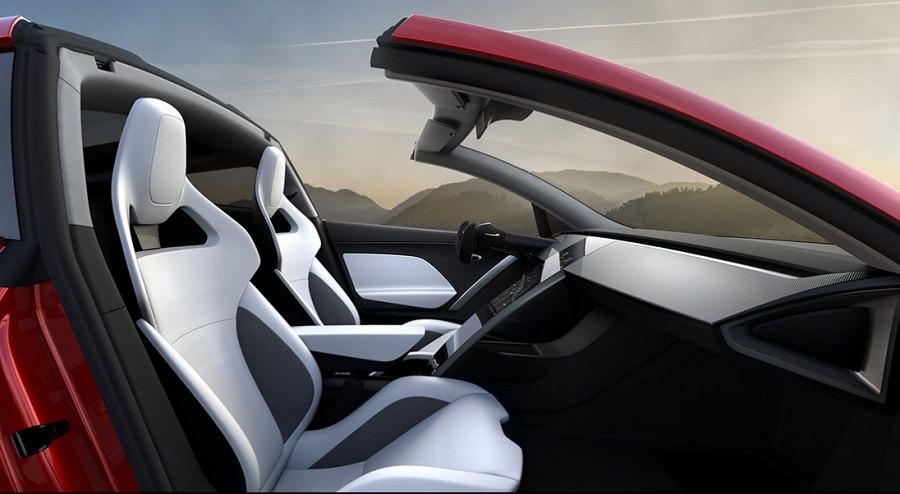سيارة تسلا رودستر 2020