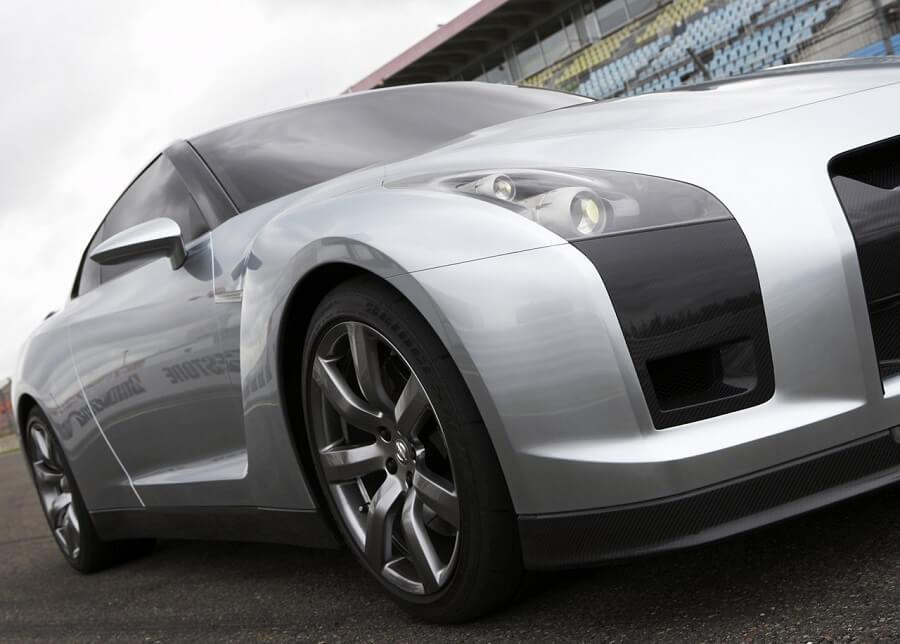سيارة نيسان GTR اختبارية عام 2005